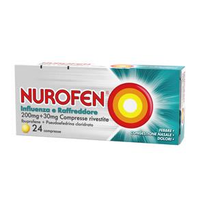 Nurofen raffreddore e influenza