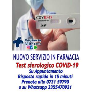 Test sierologico COVID 19